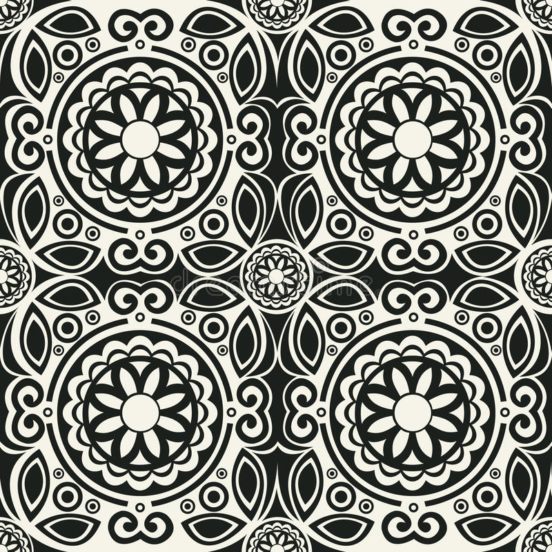 Download 70's Wallpaper Pattern Royalty Free Stock Photos - Image: 24491728