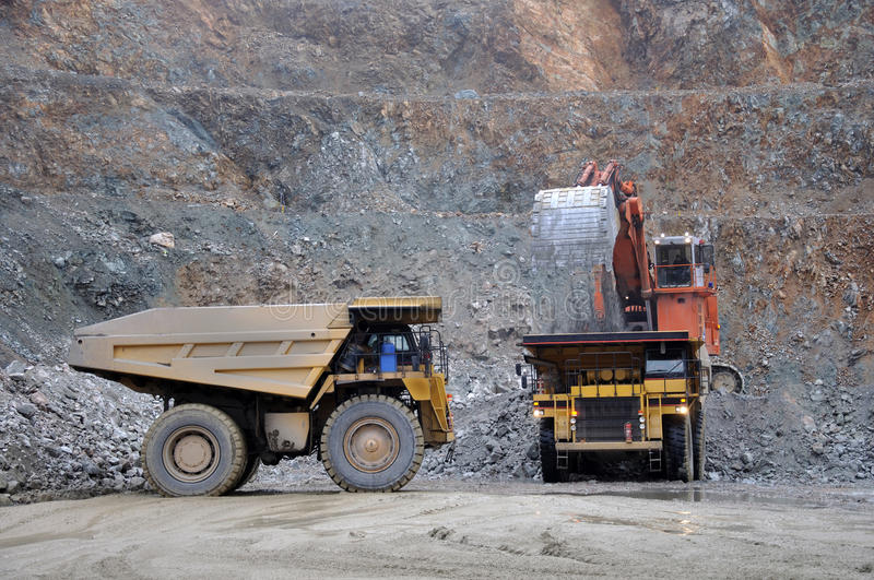 Download 70 ton trucks stock image. Image of moving, geological - 13594693