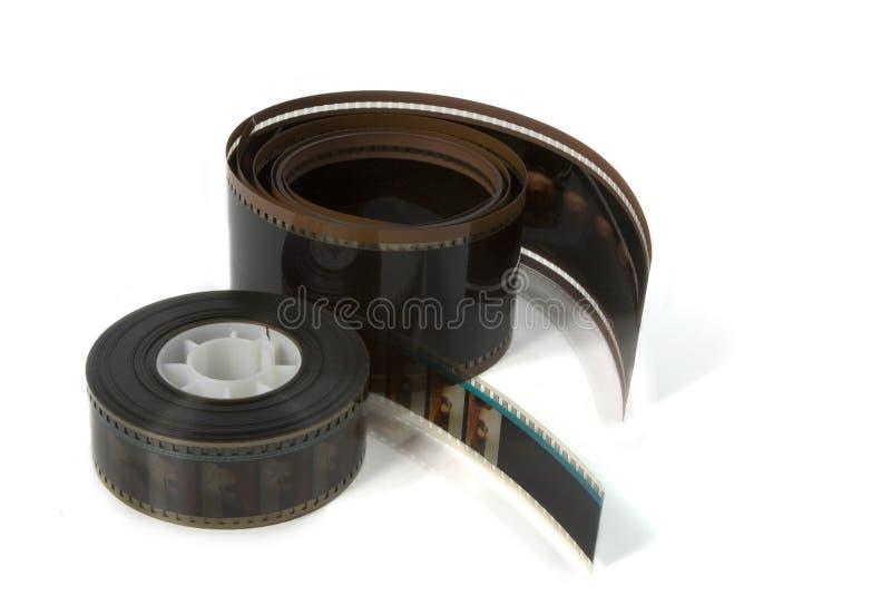70mm en 35mm Filmfilm royalty-vrije stock afbeelding