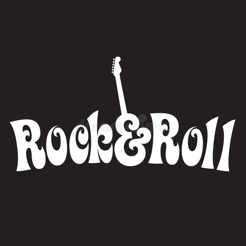Free 70s Style Rock & Roll Design Royalty Free Stock Photography - 9945857