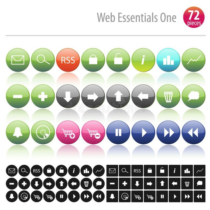 Download 72 bases un Web illustration de vecteur. Illustration du ordinateur - 8657826