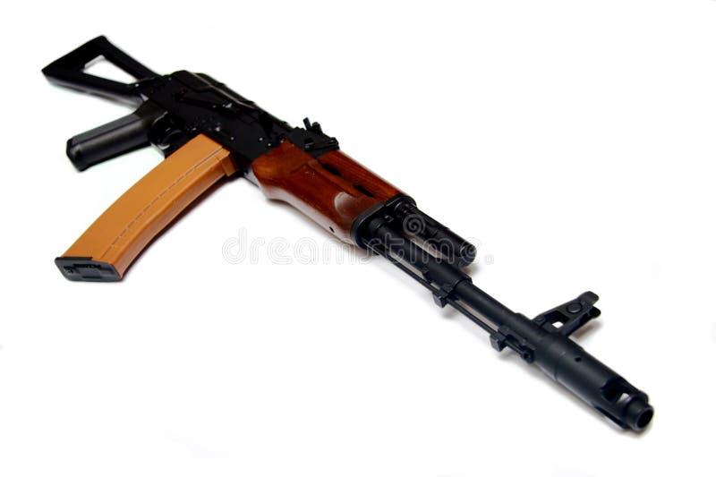 74 russ för gevär för akkalashnikov legendariska moderna arkivbild