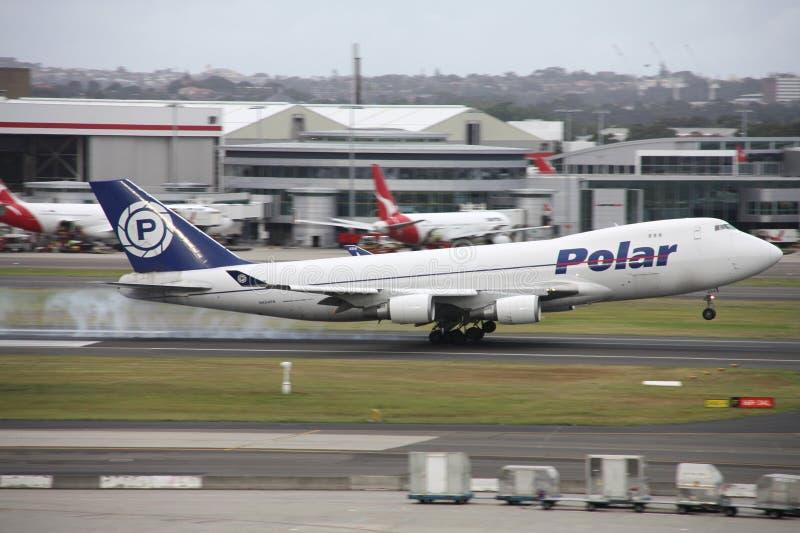 747 Боинг стоковая фотография rf