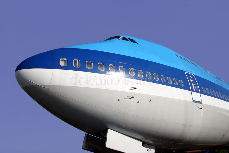 747 Boeinga zdjęcia royalty free