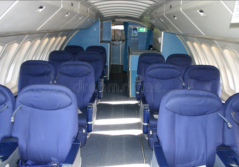 747 kabiny fotografia stock