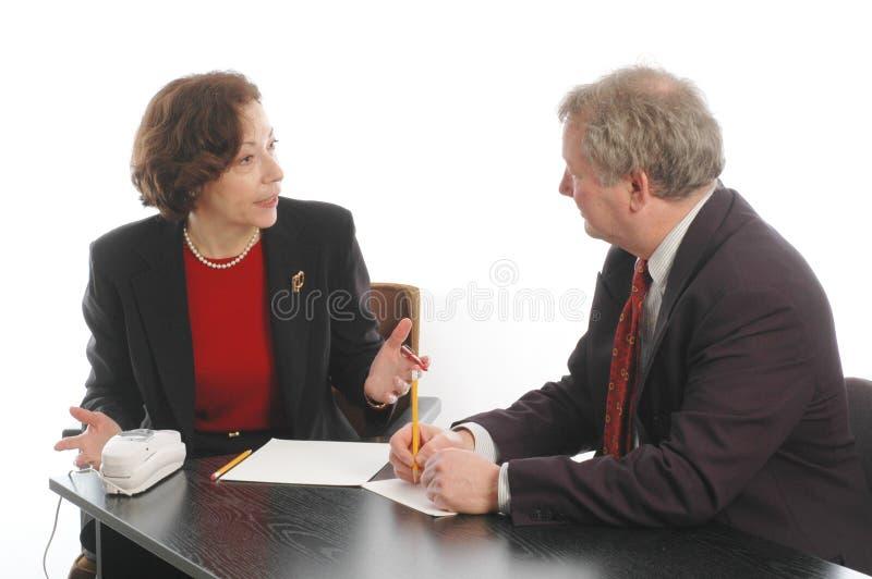 749 spotkania dyrektorów wykonawczych senior fotografia royalty free