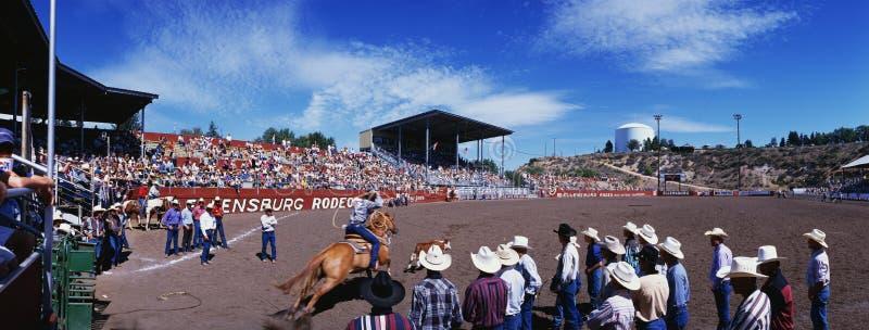 75.o Rodeo 1997 de Ellensburg fotos de archivo