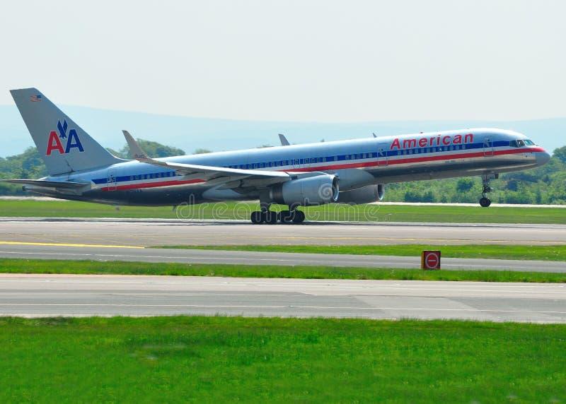 757 αερογραμμές αμερικανι&kap στοκ φωτογραφία με δικαίωμα ελεύθερης χρήσης