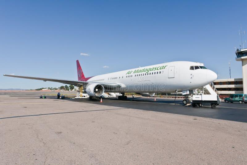 767航空波音马达加斯加 库存图片