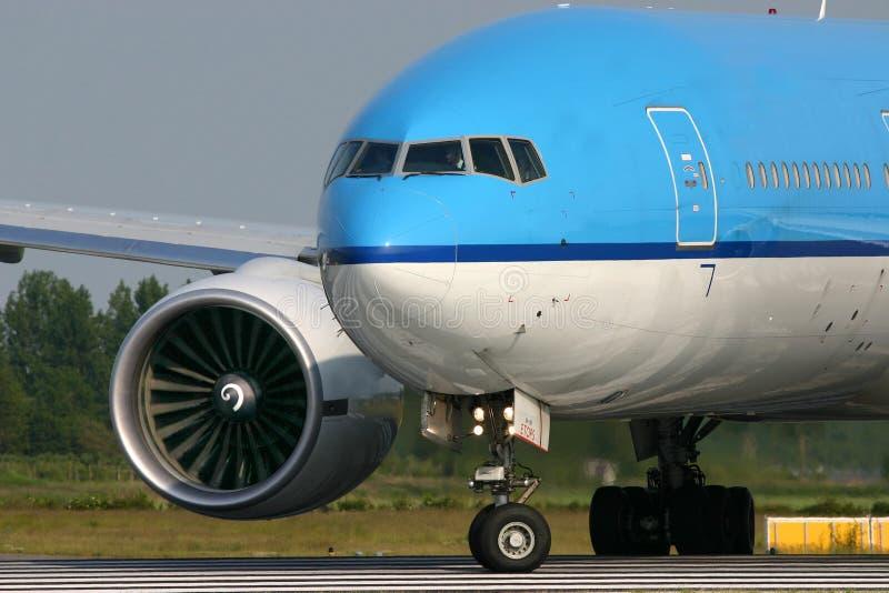 777 Боинг стоковая фотография