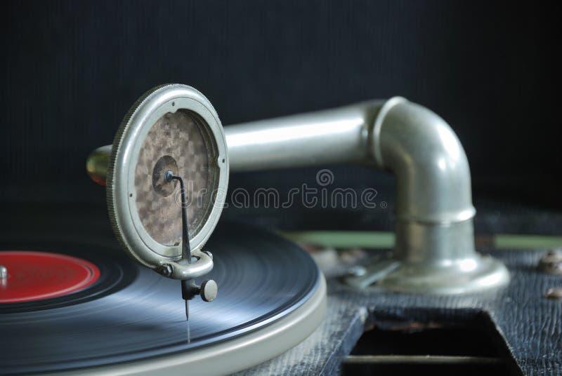 78 rpm zapisu gracza obraz royalty free