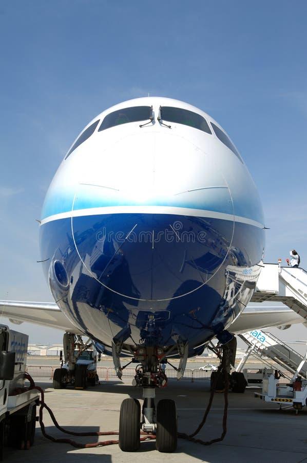 787 Boeing dreamliner zdjęcia stock