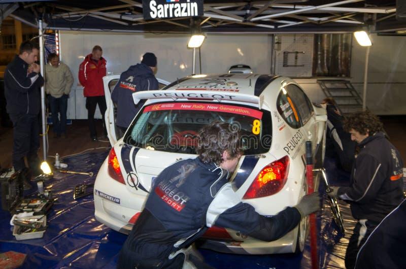 79th Rally De Montecarlo , Centenary  Edition Editorial Stock Photo
