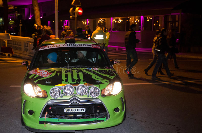 Download 79th Rally De Montecarlo , Centenary' Edition Editorial Photo - Image of 2011, event: 17959876