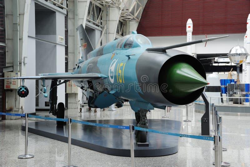 7iii中国f喷气式歼击机 库存照片