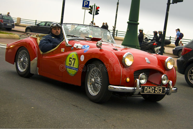 7th Classic regularity event Milano Sanremo royalty free stock photo