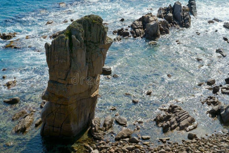 8个岩石海运 图库摄影
