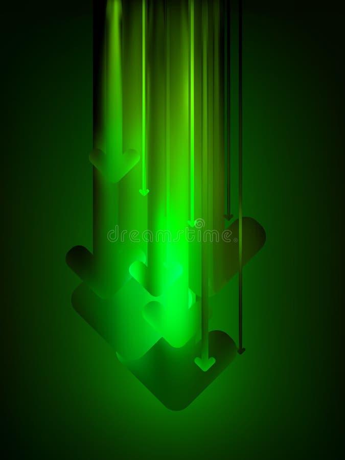 8个背景下载eps绿色万维网 库存例证