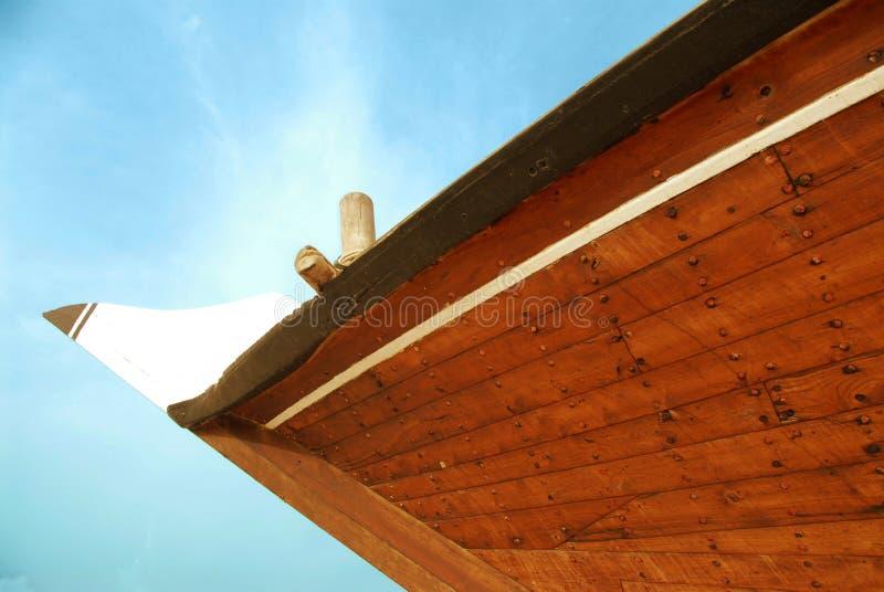 8单桅三角帆船 免版税图库摄影