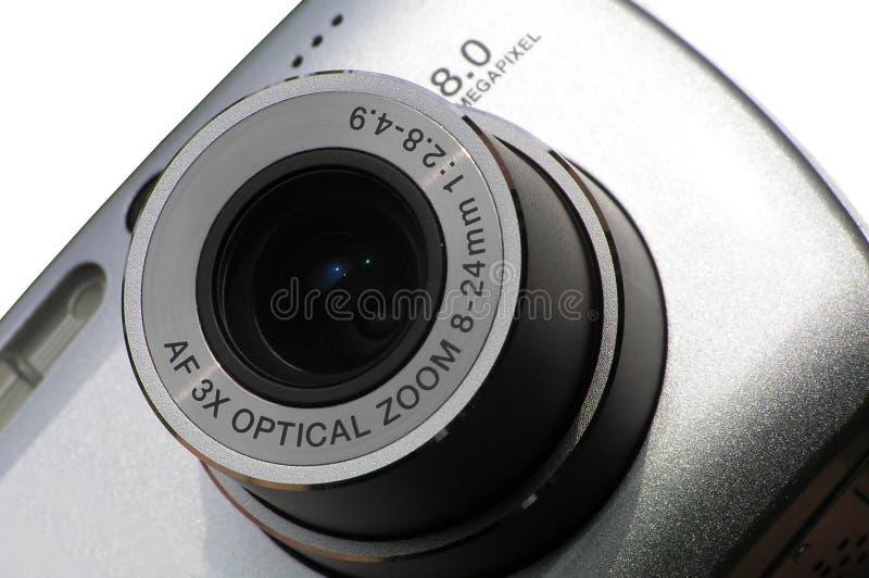 8台照相机megapixel 免版税库存照片