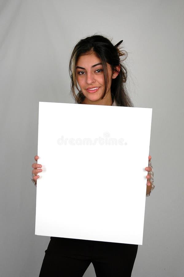 8女实业家 免版税库存照片
