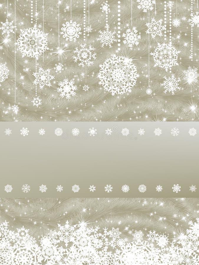 8看板卡cristmas典雅的eps新年度 库存例证