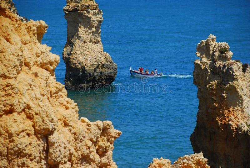 8葡萄牙海边 免版税库存图片