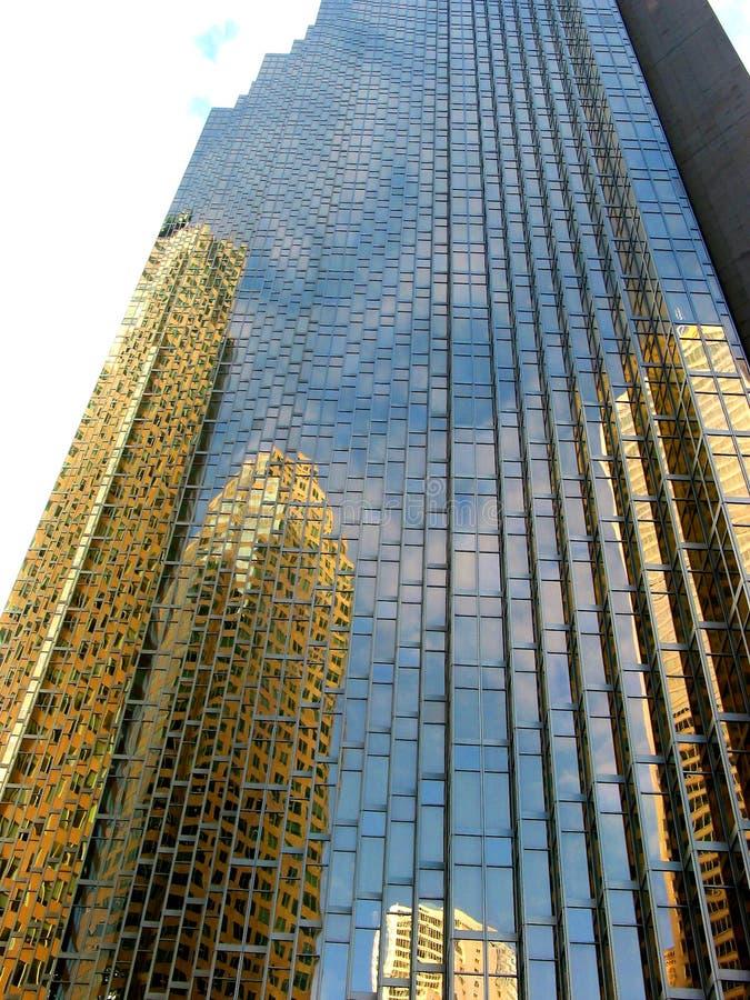 8街市反映 免版税库存图片