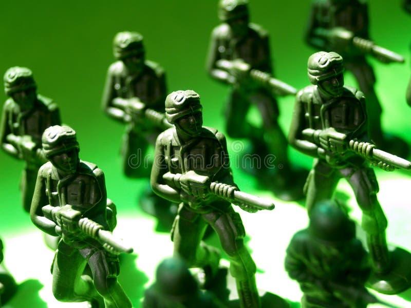 8 żołnierzy. zdjęcie stock