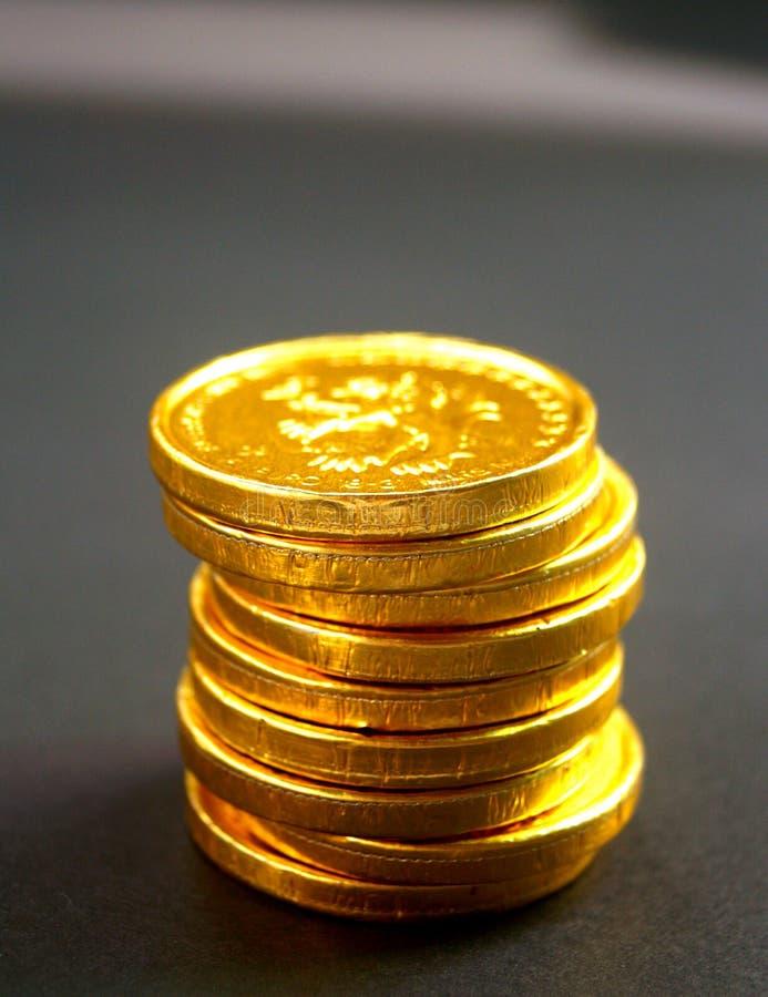 8 монеток Стоковое фото RF