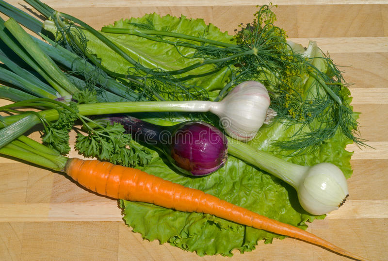 8 свежих овощей стоковые изображения rf