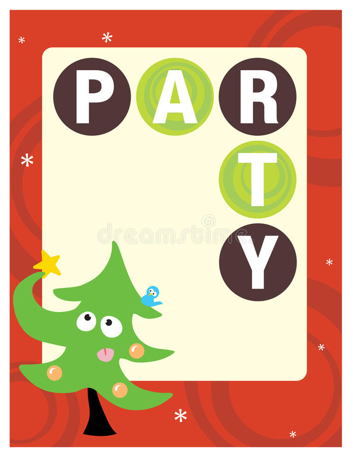 Download 8.5x11 Party Flyer/Poster stock vector. Image of drawn - 10325612