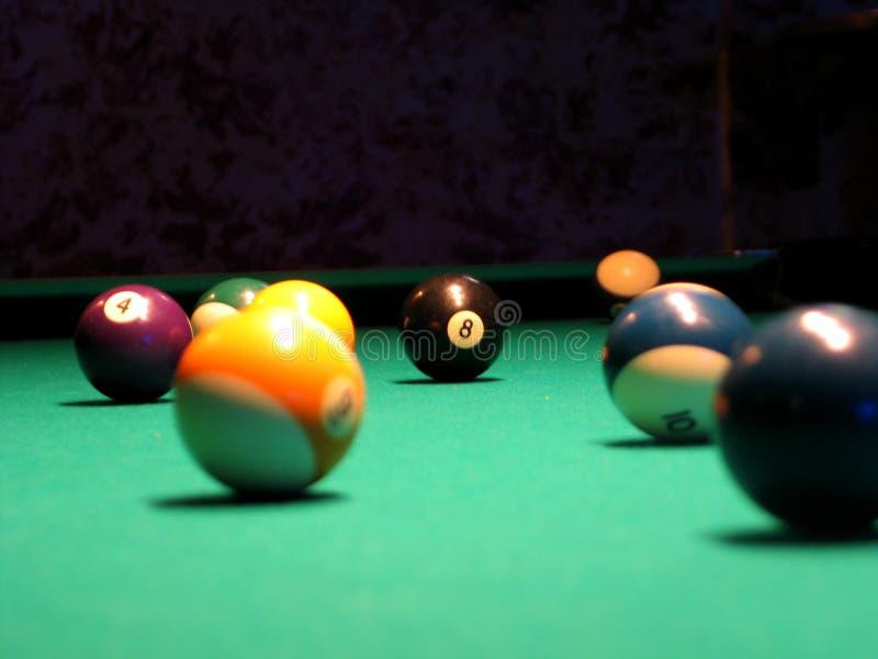 8 bal (Pool) royalty-vrije stock afbeeldingen