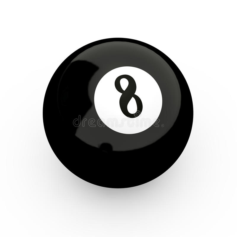 Download 8 Ball stock illustration. Image of object, illustration - 19784999