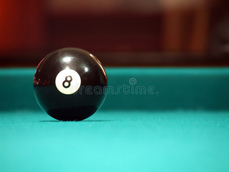 8 ball obraz royalty free