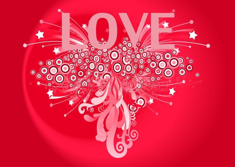 8 byli mój valentine royalty ilustracja