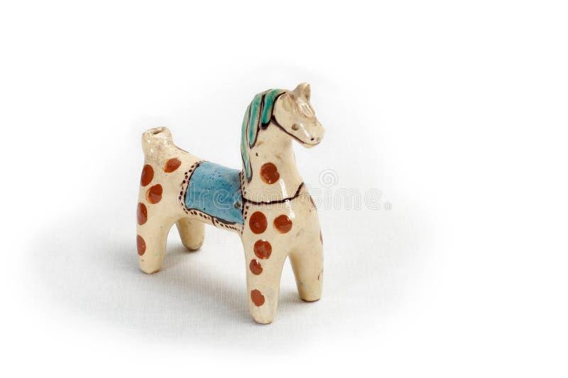 8 glinianych zabawek zdjęcie stock
