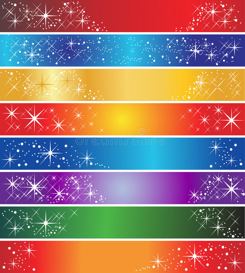 Download 8 holiday banners stock vector. Illustration of pink - 12284595
