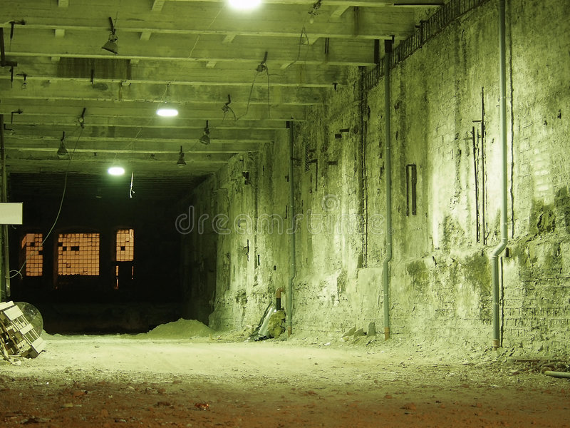 8 industriali andati fotografia stock libera da diritti