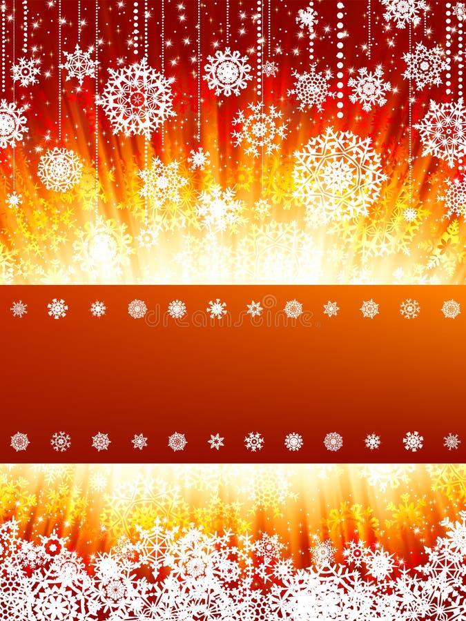 8 jaskrawy karciany cristmas eps nowy rok royalty ilustracja