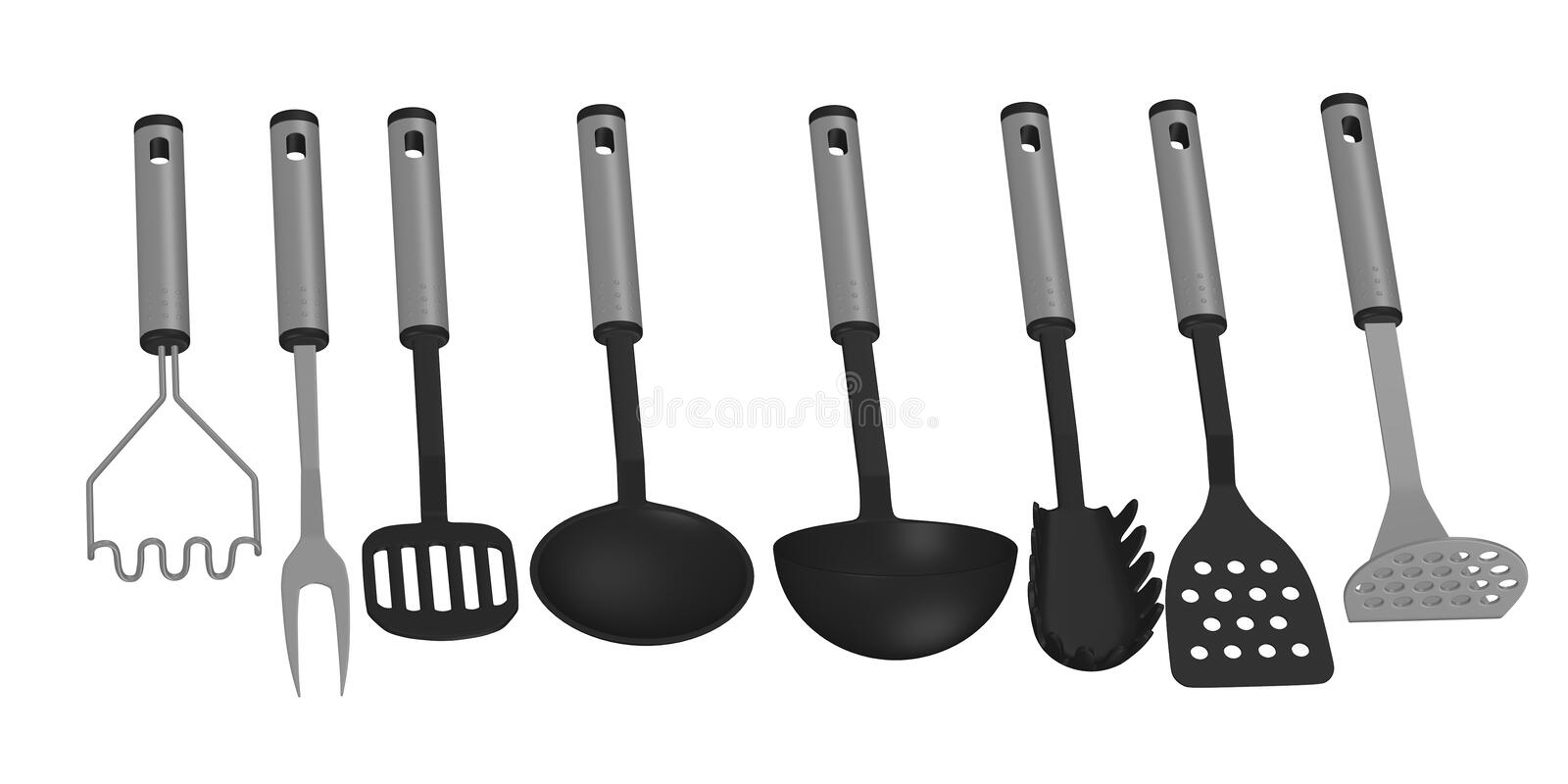 8 kitchen utensils