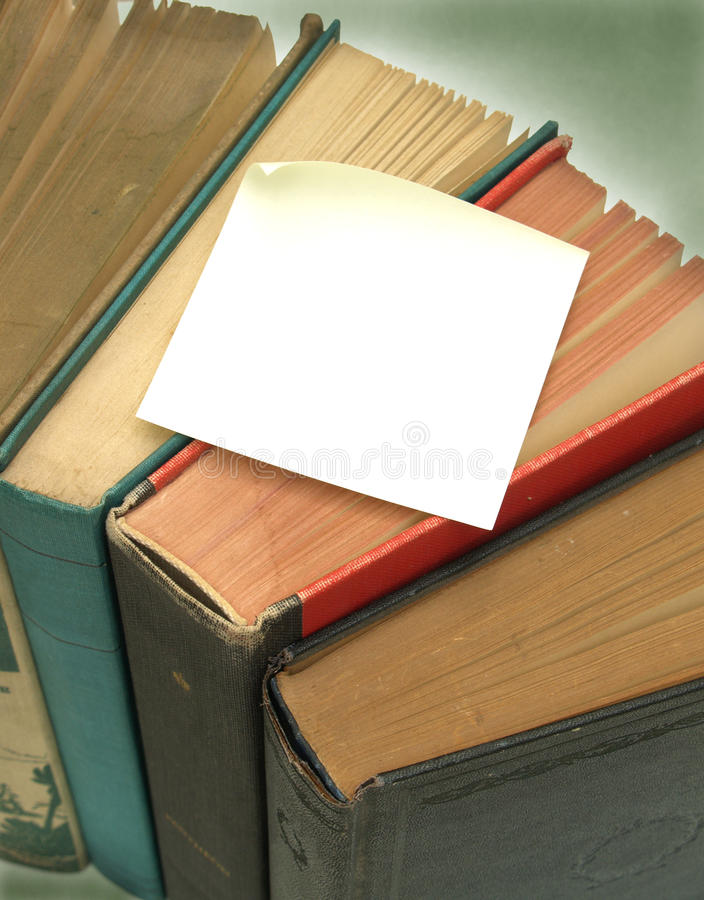 8 książkowa notatka obrazy royalty free