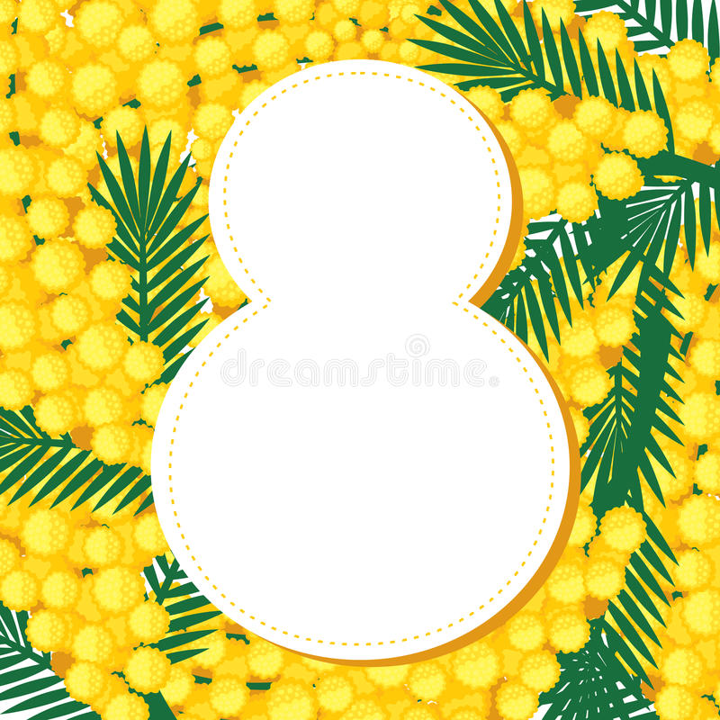8 March background royalty free stock photo