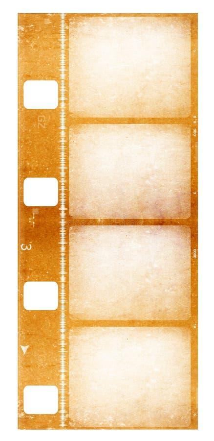 8 milímetros de carrete de película stock de ilustración