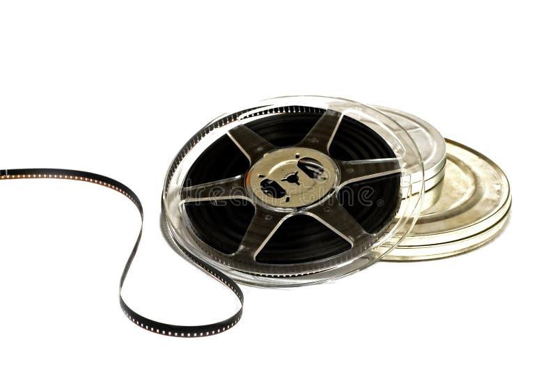 8 Millimeter-Filmstreifen stockbild