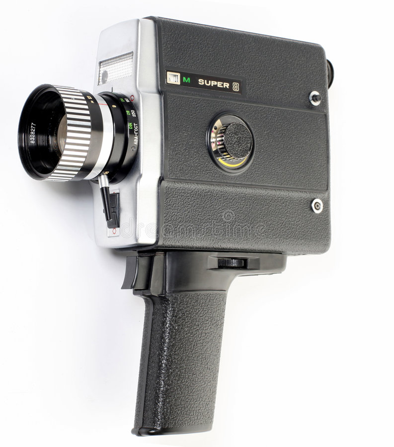 8 Mm Camera Royalty Free Stock Images