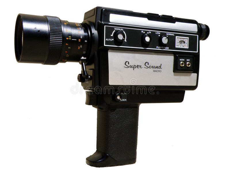 Download 8 mm camera stock photo. Image of classic, projection - 6504018