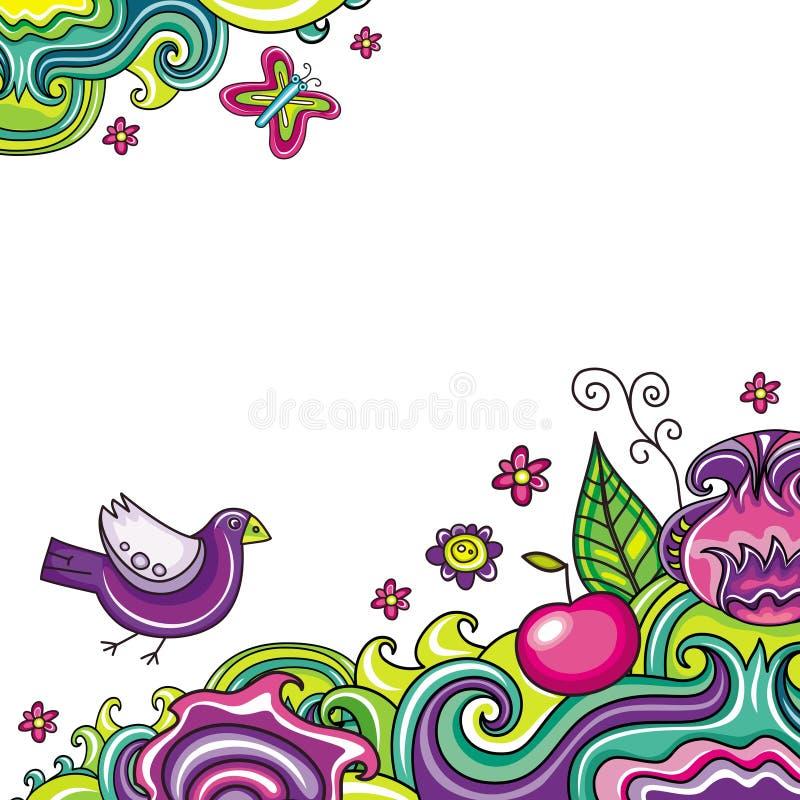 8 skład kwiecisty ilustracji