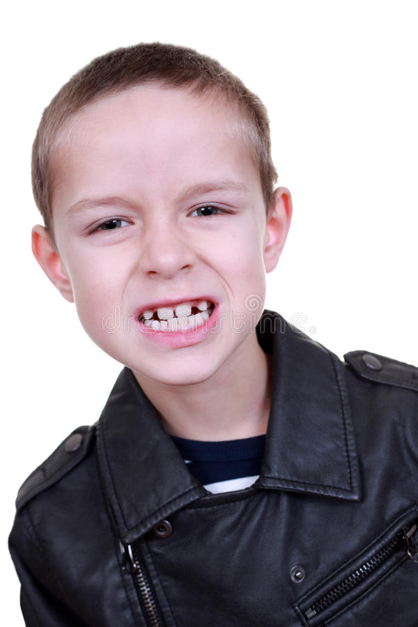 8 Years Old Boy Stock Image