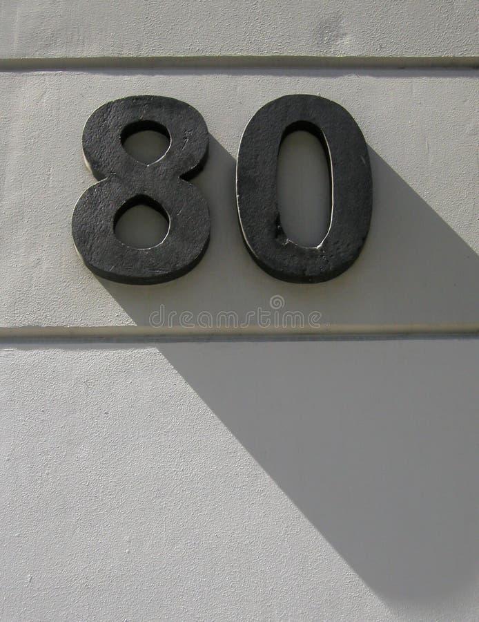80 теней стоковые фото